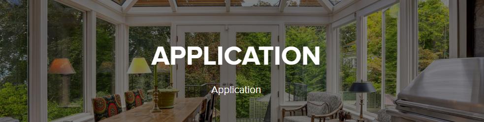 application header