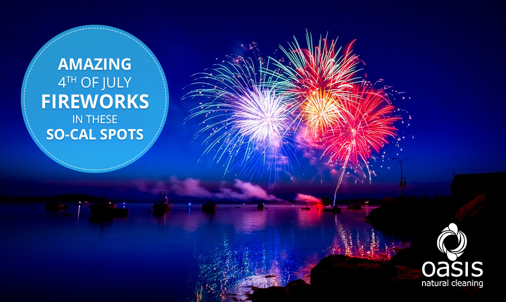 Catch Amazing Fourth of July Fireworks Shows in these SoCal Spots