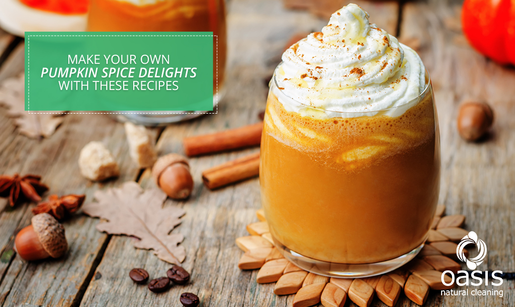 Make Your Own Pumpkin Spice Delights with These Recipes