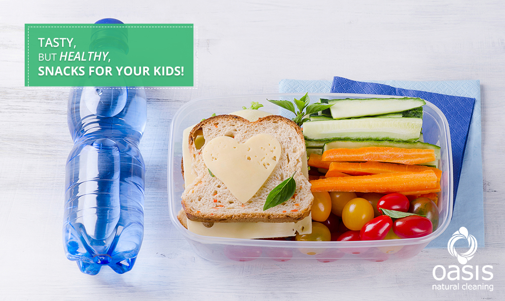 Tasty, but Healthy, Snacks For Your Kids!