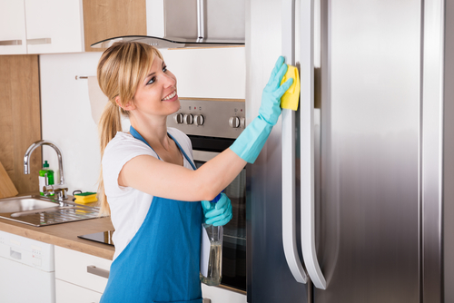 What are the duties of a cleaning lady