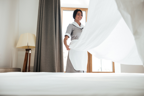 What are the duties of a housekeeper