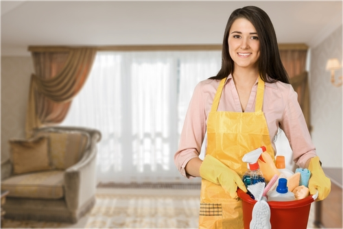 What are the types of cleaning services