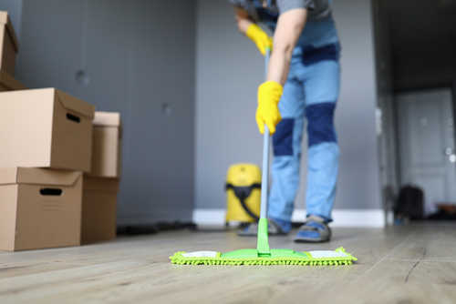 Do tenants clean when moving out