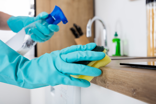 How do deep cleaning and regular cleaning differ