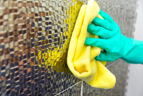 What is the fastest way to deep clean a house
